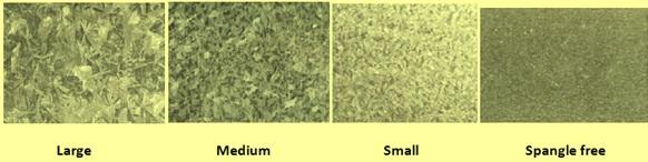 comparison of spangles