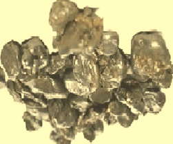 Granulated iron