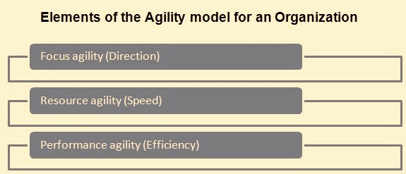 Element of an agility model