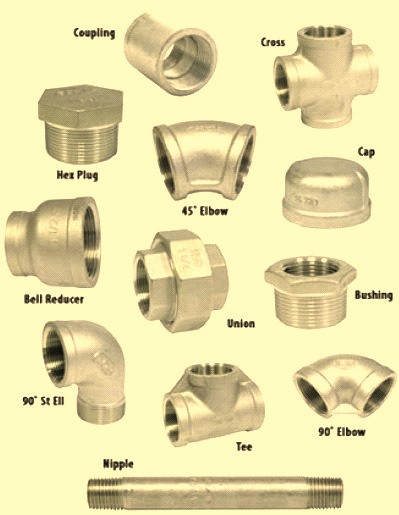 Types of pipe fittings